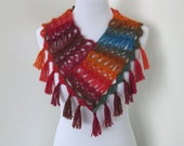 Crochet Scarf Pattern: Ember Scarf