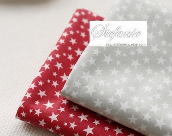 SALE Clearance 1 Yard Japanese Waterproof Nylon PVC Fabric-Lovely Chic Tiny Twinkle Star Stars, Choose Color(1 Yard)