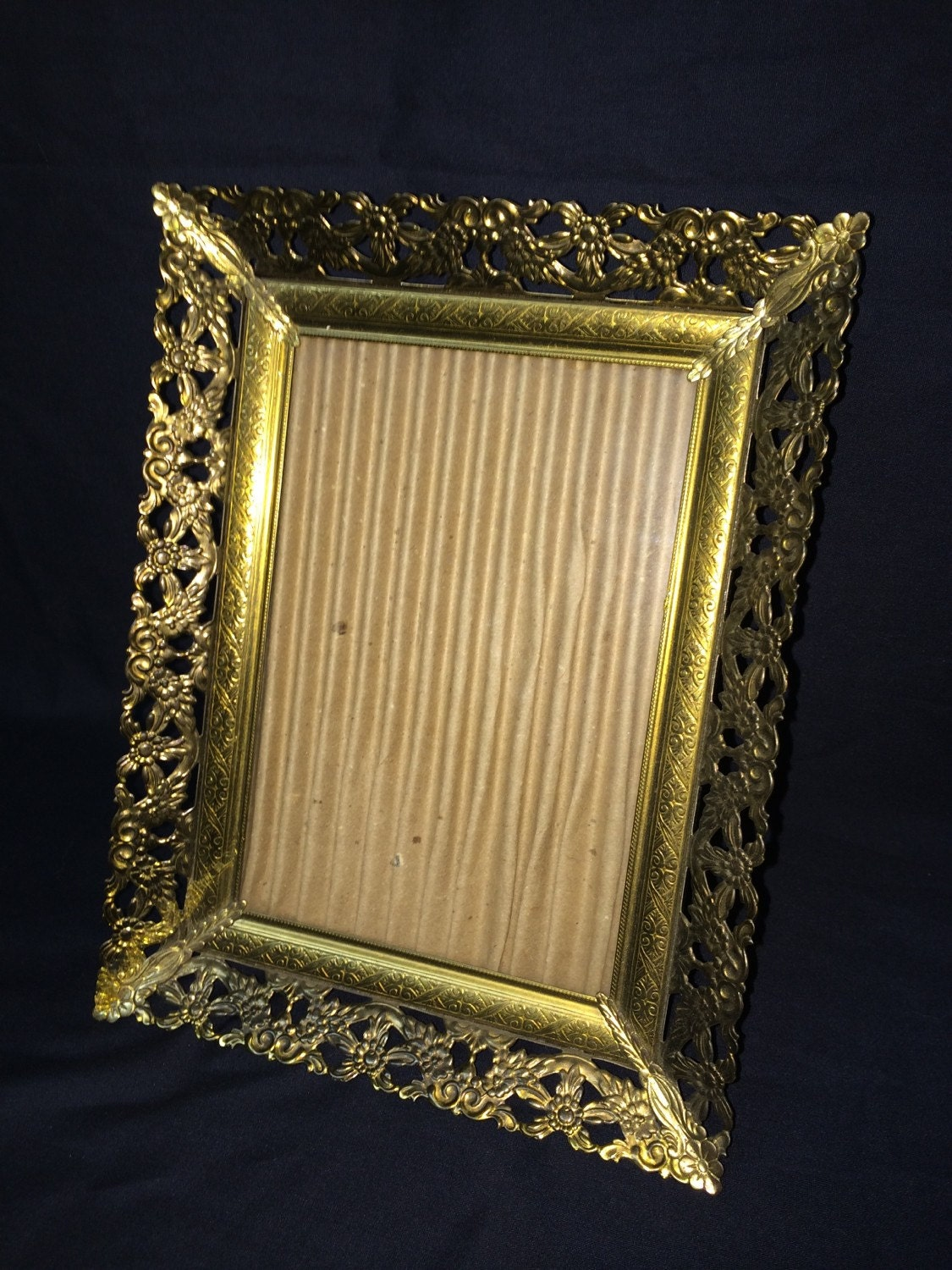 Vintage Small Gold Toned Picture Frame