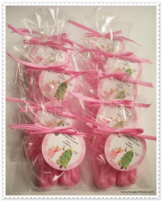 10 Ballet Soap Favors (Tags Included)