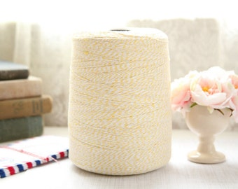 25 Yards YELLOW Baker's Twine, FREE SHIPPING with another purchase, String Twine, Bakers Twine, Holiday, Gift, Packaging Twine