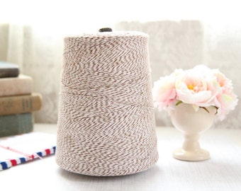 25 Yards BROWN Baker's Twine, FREE SHIPPING with another purchase, String Twine, Bakers Twine, Holiday, Gift, Packaging Twine