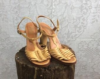 Vintage Starppy Heel Sandals