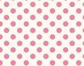 Sale Riley Blake Designs Swiss Dot Medium Hot Pink 100% cotton