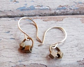 SALE - Everyday - Hand crafted Brass Earrings - Artisan Tangleweeds Jewelry