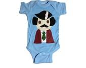 Baby Onesie - Stay Crafty... Burgundy Jacket Man - Infant Bodysuit - Baby Shower - Stay Classy