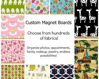 Magnet Boards,  Custom Bulletin Board, Custom Magnet Board, choose Your Theme, Wall Hanging Organizer, Home, Office