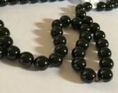 Swarvoski Beads Black 50 8mm