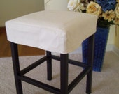 Barstool Slipcovers And Cushions By Applecatdesigns On Etsy