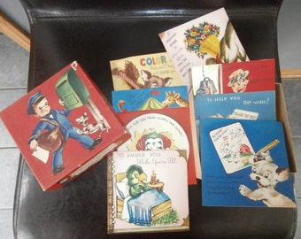 Cards & Envelopes - All Occasion- Vintage-Doehla Fine Arts  (8) Cards  ~ Box of Cards/ Envelopes Original Box Unused