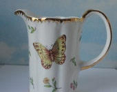 I. Godinger and Co. Butterfly, Lady bug and Bee Creamer Pitcher. Primavera