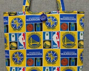 Golden State Warriors Tote Bag/Book Bag