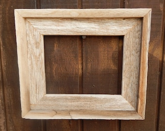 Clearance Item  ~  Reclaimed Wood Frame  --  Weathered Cedar Wooden Frame  --  Rustic Cedar Frame  --  Rustic Home Decor