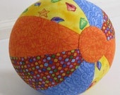 Baby Beach Ball Sewing Pattern - PDF Sewing Pattern