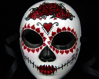 True Love Ways Female Mask Day of the Dead custom