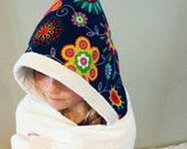 Organic Bamboo Hooded Towel, Child Size