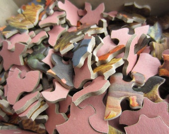 Vintage 1950s Tuco Picture Puzzle Pheasant Nature Jigsaw Puzzle Missing