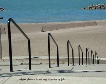 Beach photograph, Lorain Ohio beach photograph, Lorain Park Photograph, 5x7 or 8x10 with or without matting, Ohio gift,