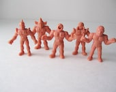 RESERVED LISTING M.U.S.C.L.E. Men Figurines, 1980s Toy Figures