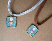 First Communion Necklace - First Communion Gift for Boys for Girls - Chalice Pendant on Cord