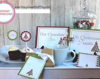 Christmas Printable Party Set: Oh Christmas Tree