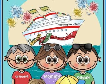 Matching Family Cruise Shirt  -  Family Cruise Shirts - Matching Group Cruise Shirts - Carnival Cruise Shirts - Royal Caribbean Cruise Shirt