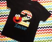 Elmo Birthday Shirt - Elmo Shirt - Personalized