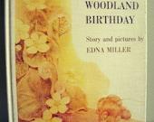 Mousekin's Woodland Birthday . Edna Miller . Vintage Childrens Hardback Mouse Book, 1974