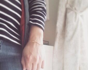 Bar Bracelet Stackable Bracelet Simple Minimalist Bracelet Golden Bracelet Simple Modern Jewelry