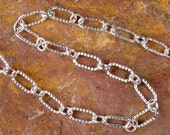 LONG & SHORT CHAIN - Sterling 925 Silver Chain With Medium Lobster Clasp