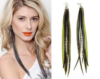 Bicycle Earrings for Women, Vegan, Innertube Earrings, Recycled Bicycle Inner tubes, Vegan Earrings, Faux Leather, Bike Jewelry