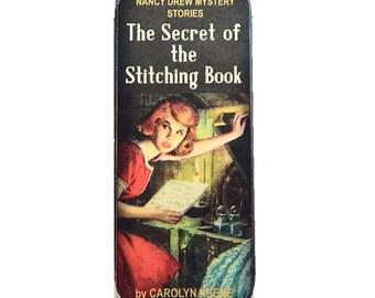 Magnetic Needle Case Needle Slider Case Nancy Mystery Book