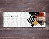 Kori  facebook cover - Instant download