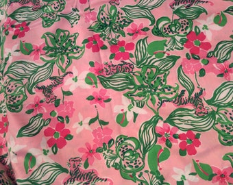 Lilly Pink Tiger Lilly fabric