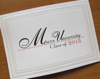 Graduation Announcement, Traditional, Folded Card, Embossed, Custom, Nursing School