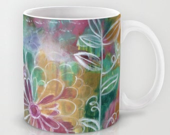 Garden Party // Coffee Tea Hot Cocoa Mug