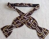 Vintage Sulka Bowtie,  Bow tie.  Silk. Eames era, Mad Men, Beatles, Rockabilly.