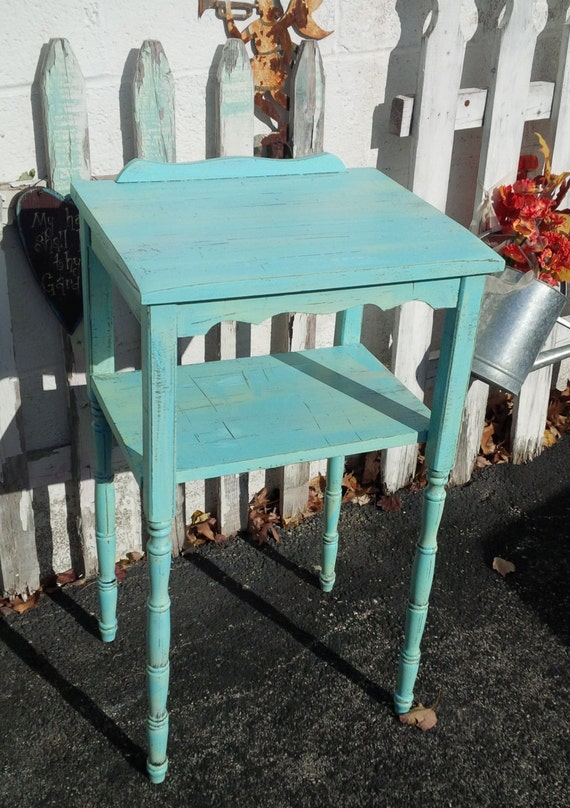 Charming Cottage Table Vintage PoppyCottage Painted Furniture Wood
