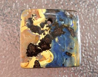Australian Boulder Opal Designer Focal Pendant Bead