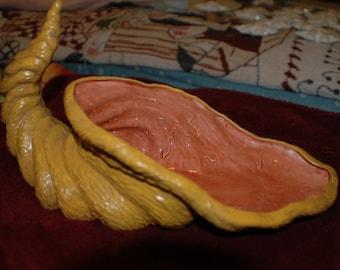 Ceramic Cornucopia - Large