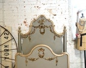 Painted Cottage Marie Antoinette Romantic Deluxe French Bed Twin/ Full / Double