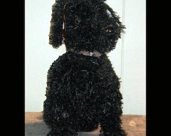 Plush puppy / custom plush puppy / Plush curly retreiver / Your Very Own Plush Puppy