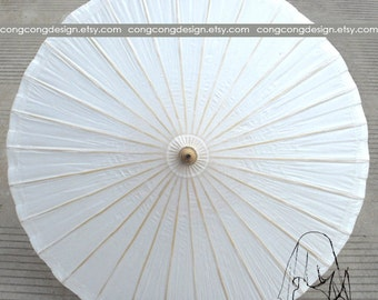 84cm(33inch)Diameter(opened) High quality process paper parasol