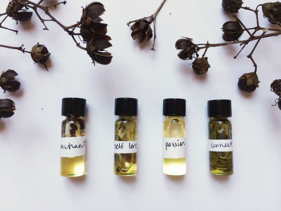 Perfume Sample Pack // Organic