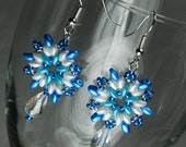 Frozen Inspired Starburst Earrings