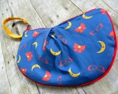 The Velma Clutch- Custom Clutch with Wrist Strap- Premium Fabric