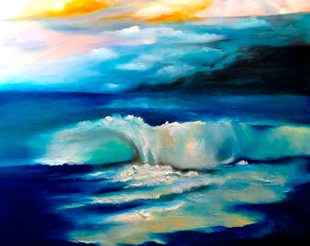 gentle wave ocean