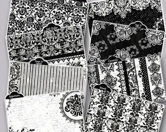 Recipe Card Dividers Black & White Damask Coordinates with Black and White Damask Recipe Box