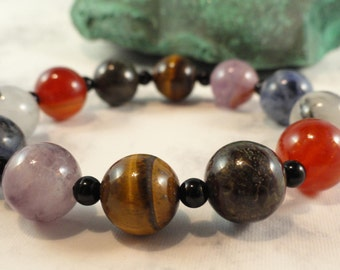 Maximum Mojo Bracelet, Therapeutic Gemstones