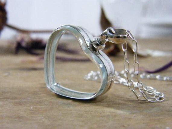 love locket, heart locket,  heart photo locket, heart shape glass locket, anniversary, wedding bridal gift